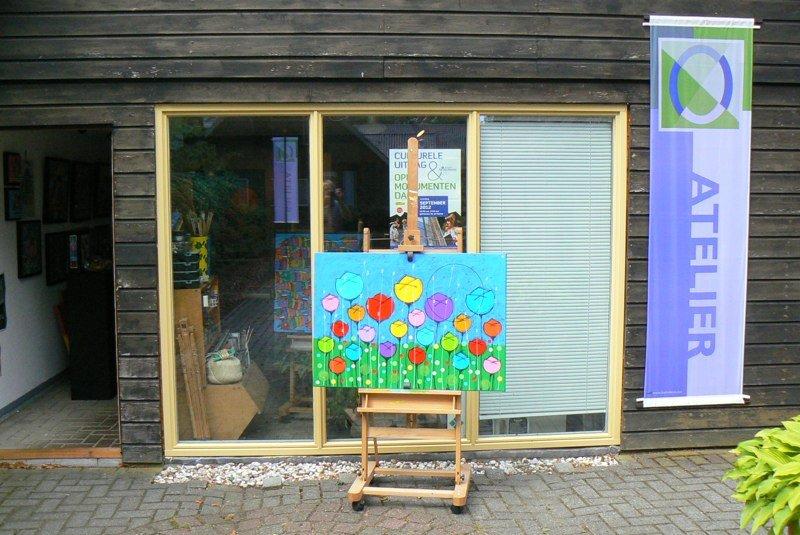 Atelier Rolde van Kees van Rijen